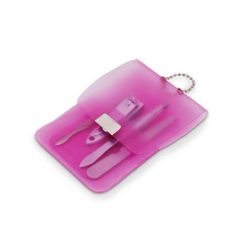 Kit de Manicure em Estojo de PVC