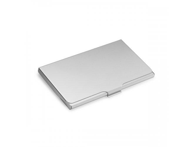 Porta Cartão Básico Prata
